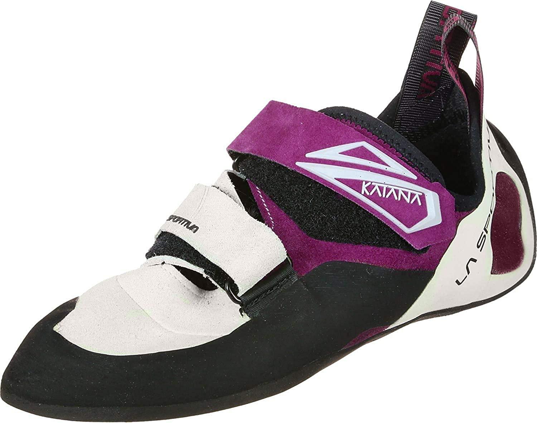 La Sportiva Katana Woman White/Purple Talla: 36