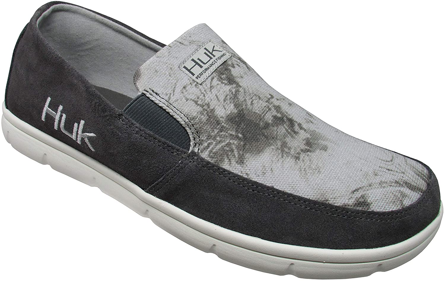 Huk Mens Brewster Leather Shoes