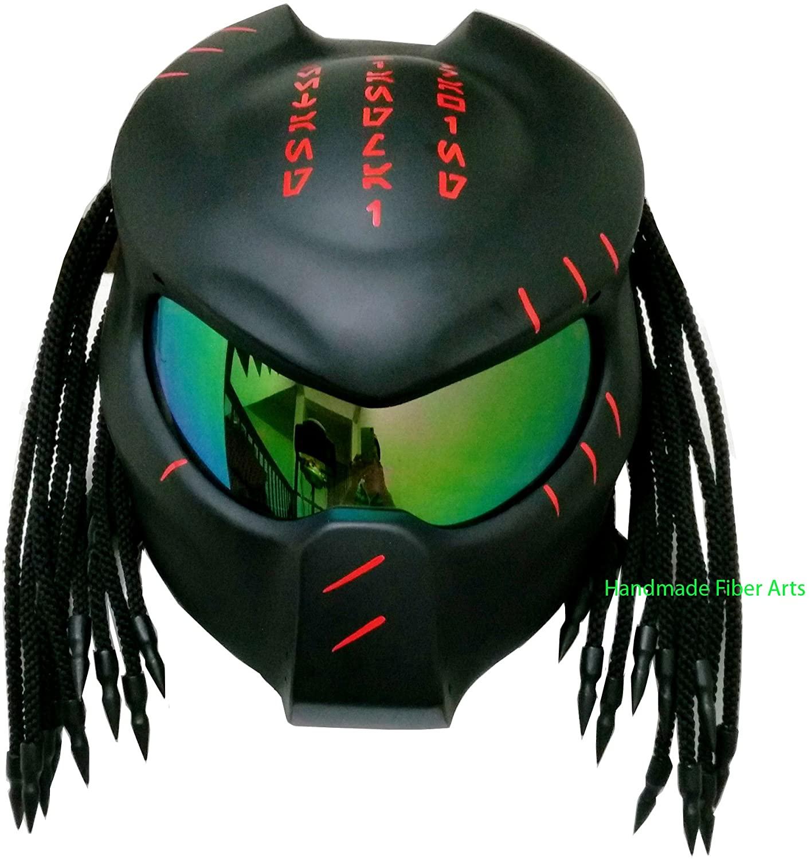 Helmet Art Thai HAT 10 Custom Predator Motorcycle Helmet