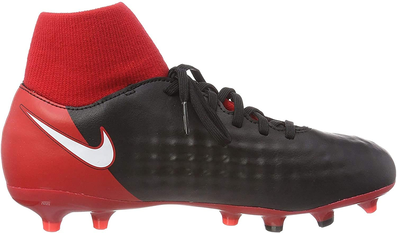 Nike Junior Magista Onda II DF FG Soccer Cleats - Red Size: 3.5Y