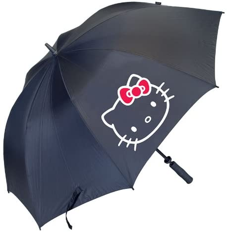Hello Kitty Golf Womens Diva Collection Tour Umbrella, Black