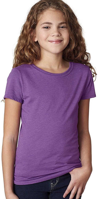 Next Level The Princess Supersoft CVC Jersey T-Shirt, Purple Berry, X-Large