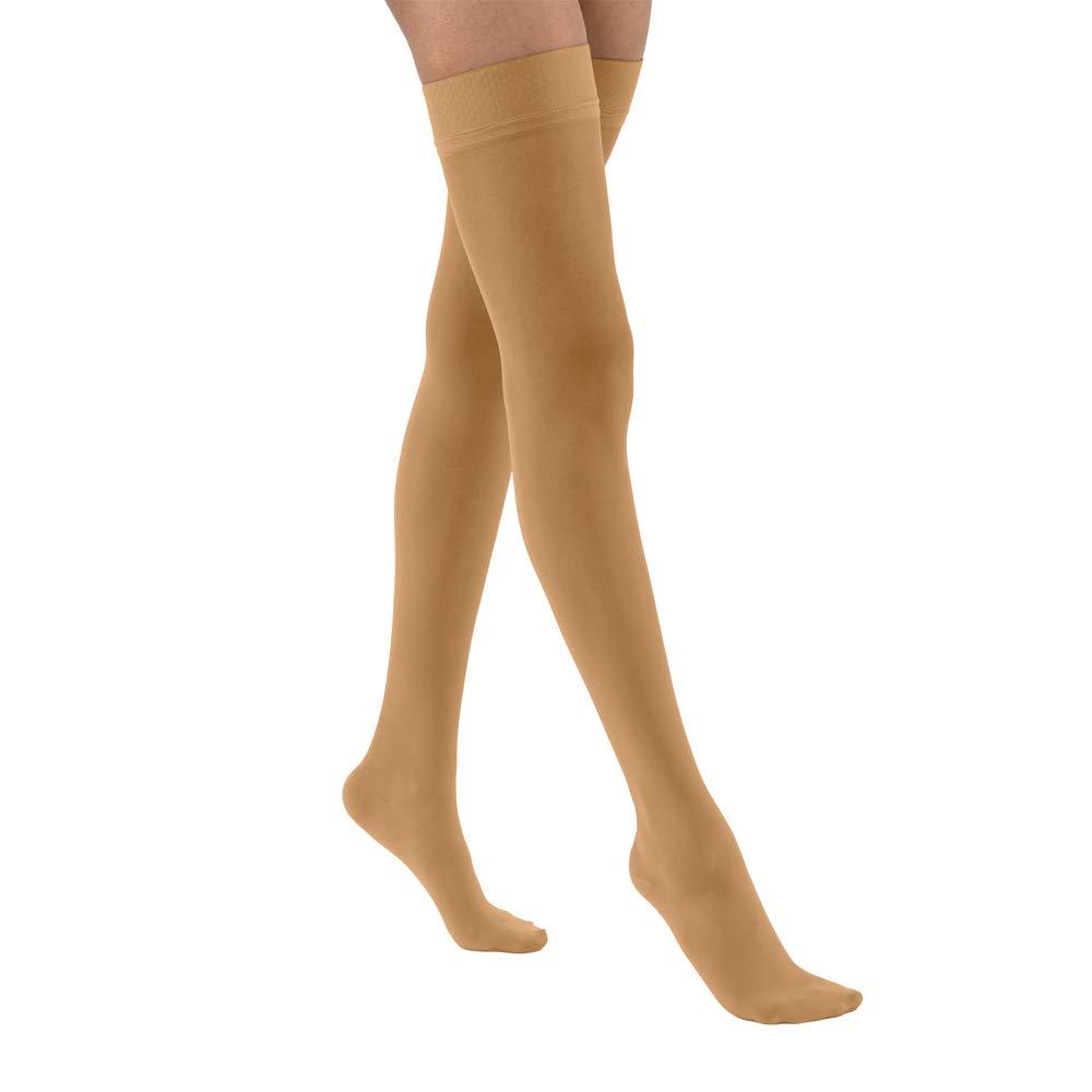 BSN Medical 122310 JOBST Compression Stocking, Thigh High, 15-20 mmHg, Closed Toe, Large, Suntan
