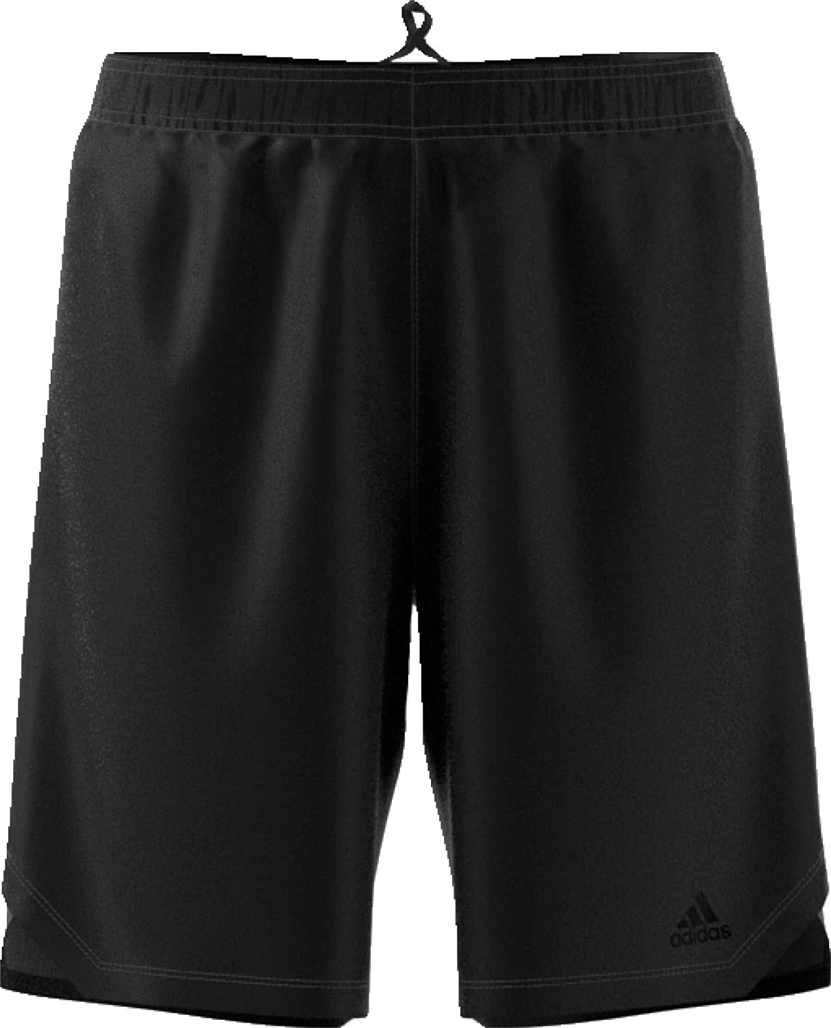 adidas Men's Axis Knit Training Shorts (Black, L)