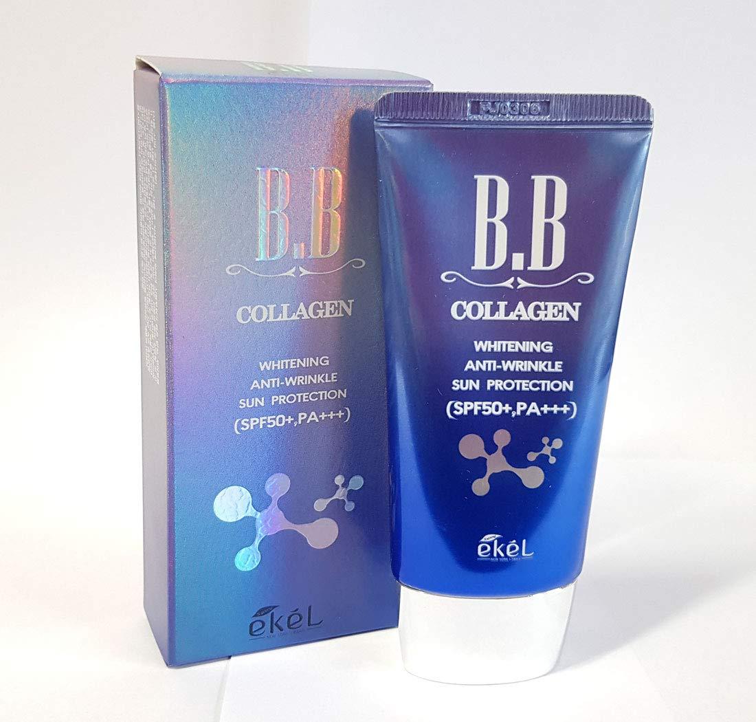 [Ekel] Collagen BB Cream 50ml / SPF50+,PA+++ / Whitening, Anti-Wrinkle, Sun protection/Korean Cosmetics