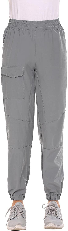 Zeagoo Women's Outdoor Quick Drying Hiking Cargo Pants