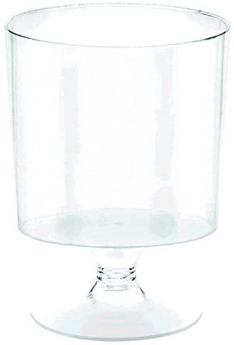 Clear Mini Pedestal Cup | 10 Ct. | 5 oz.