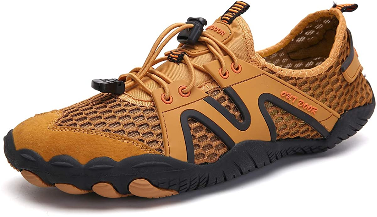 CAIWEI Water Shoes for Men and Women Barefoot Quick-DryAqua Sock Outdoor Athletic Sport Shoes for Kayaking, Boating, Hiking, Surfing, Walking