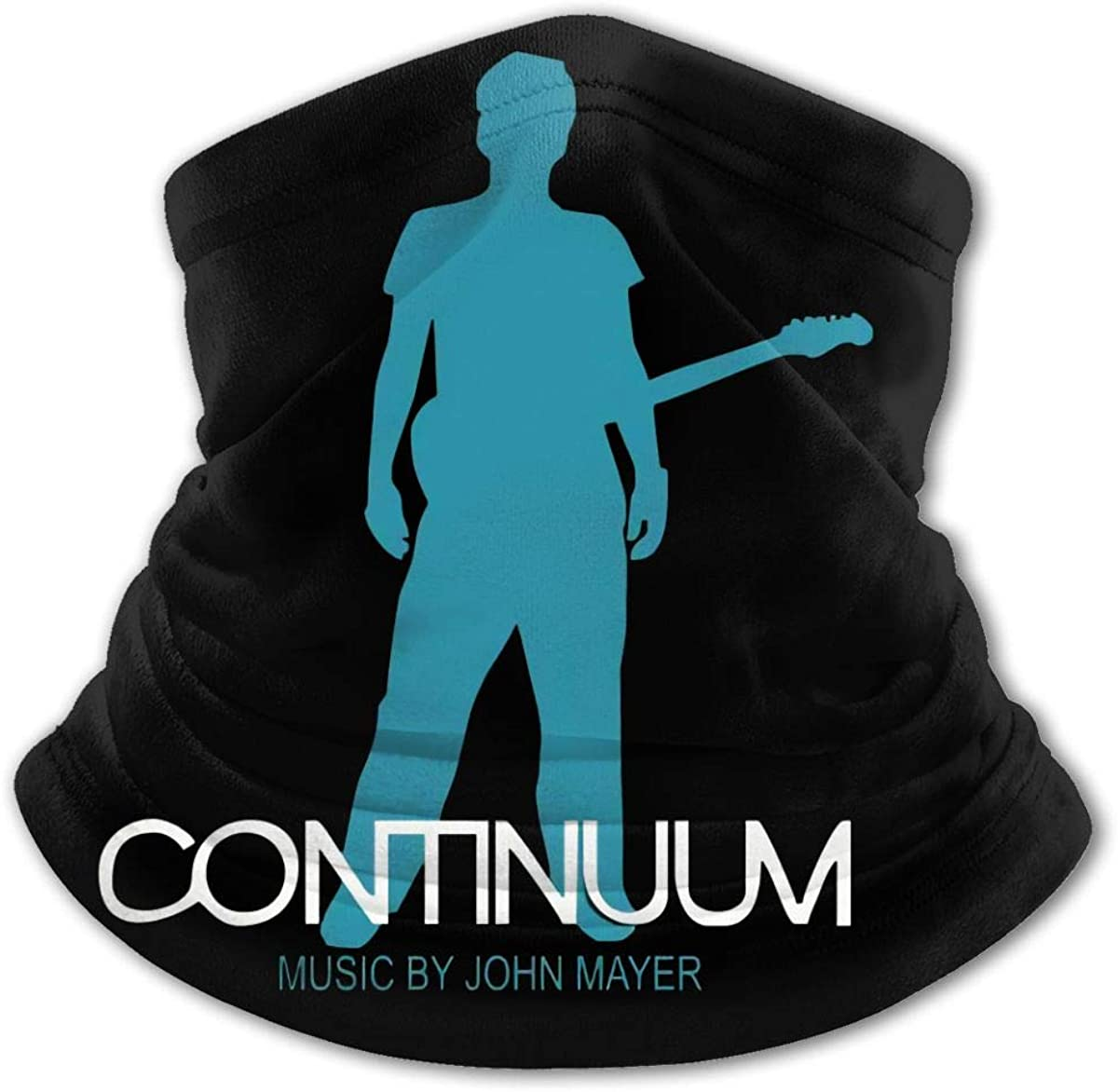 John Mayer Face Mask Balaclava Protection from Dust, Uv & Aerosols - Reusable Bandana Face Cover Black