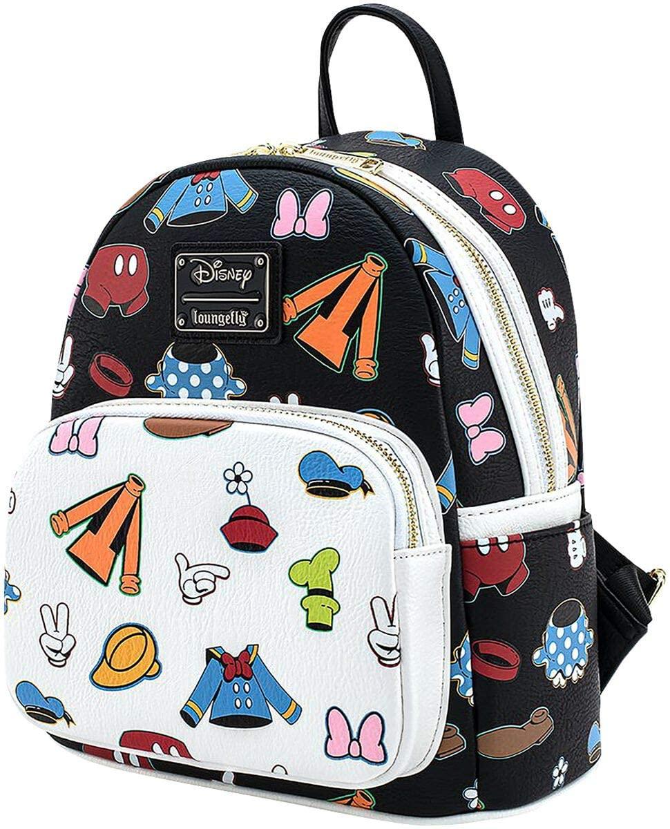 Loungefly X Disney Sensational 6 Outfits AOP Mini Backpack
