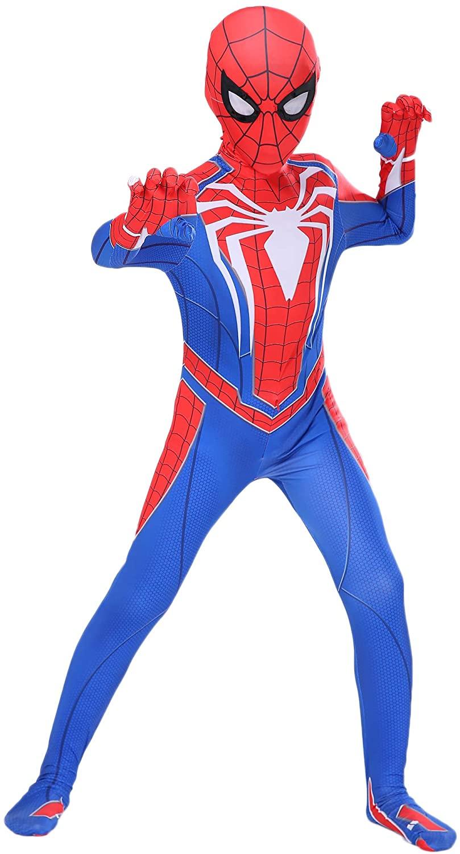 Riekinc Superhero Kids Bodysuit 3D Style Halloween Cosplay Costumes