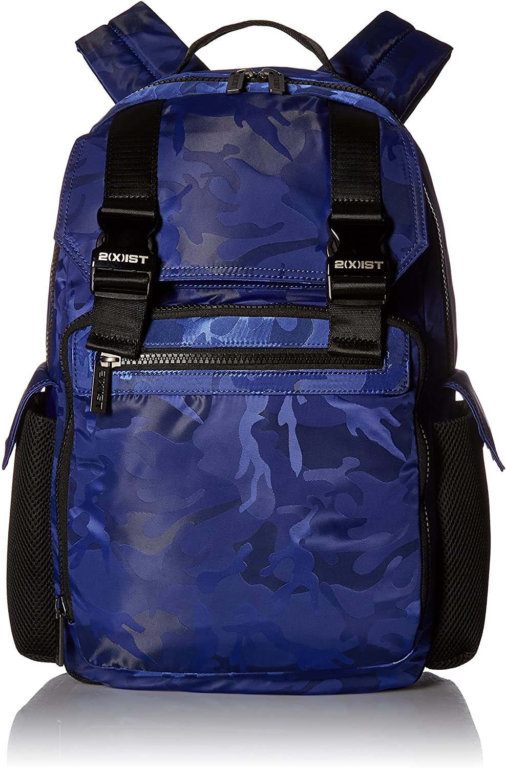 2(X) ist Men's Nylon Backpack, Cobalt Camo, One Size