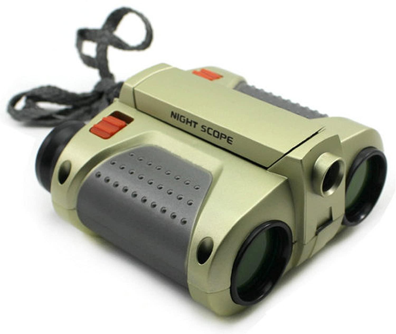 Polarbear's Shop Mini Night & Night Vision Telescope Light Surveillance Binocular Scope Kid Gift