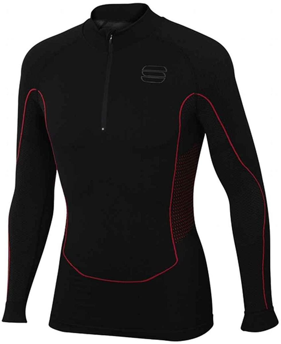 Sportful Men's Long Sleeve 2nd Skin Zip Cycling Top - A0800284