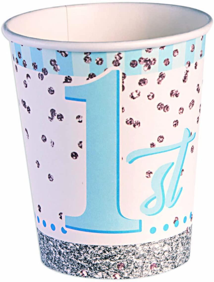 Forum Novelties 79811 Happy 1st B'day Boy Cup 9oz, Multi, 9