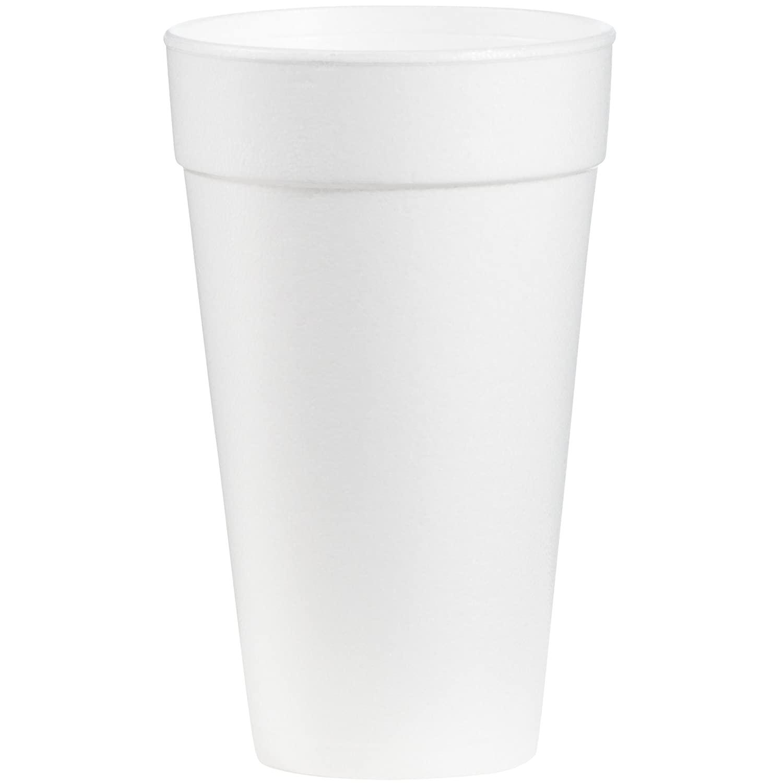 Dart 20J16 Foam Drink Cups, 20oz (Case of 500)