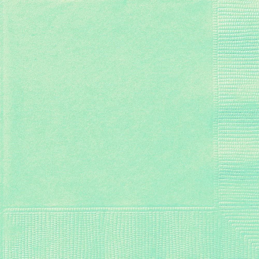 Mint Paper Napkins, 20ct