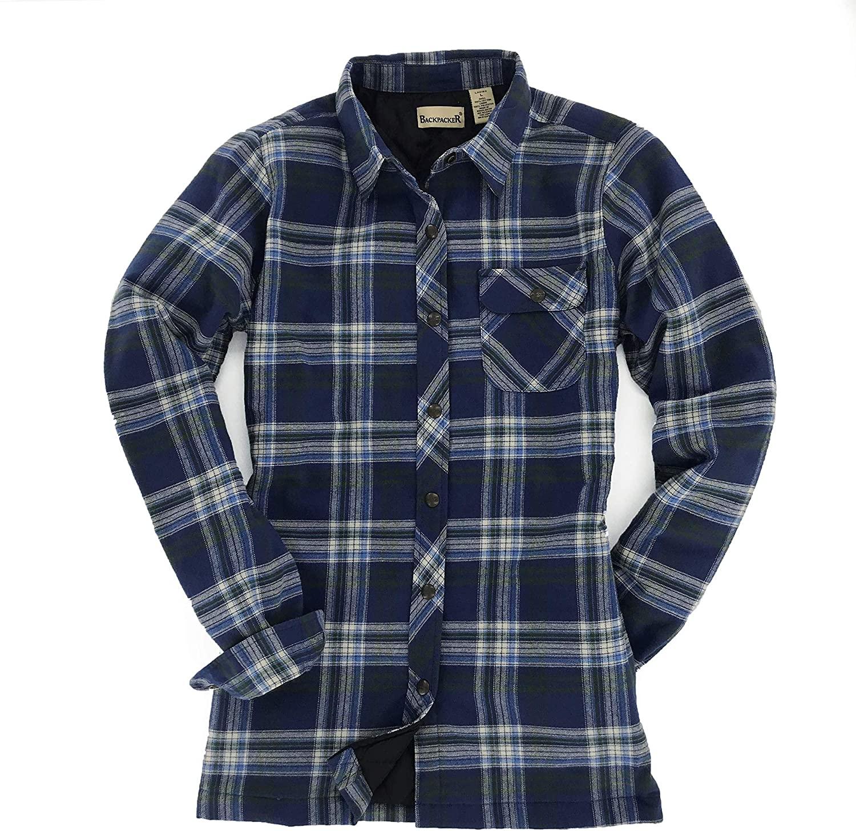 Backpacker Women's Flannel Shirt Jacket