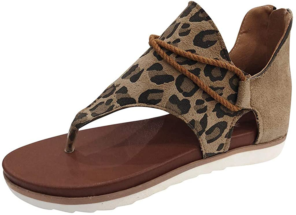 Flat Sandals for Women,Women's Flat Sandals Elegant Summer Women's Slippers Classic Women's Sandals