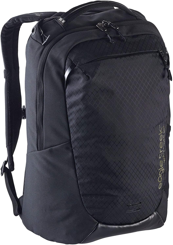 Eagle Creek Wayfinder Backpack, Women's Fit Design, Jet Black, 30L
