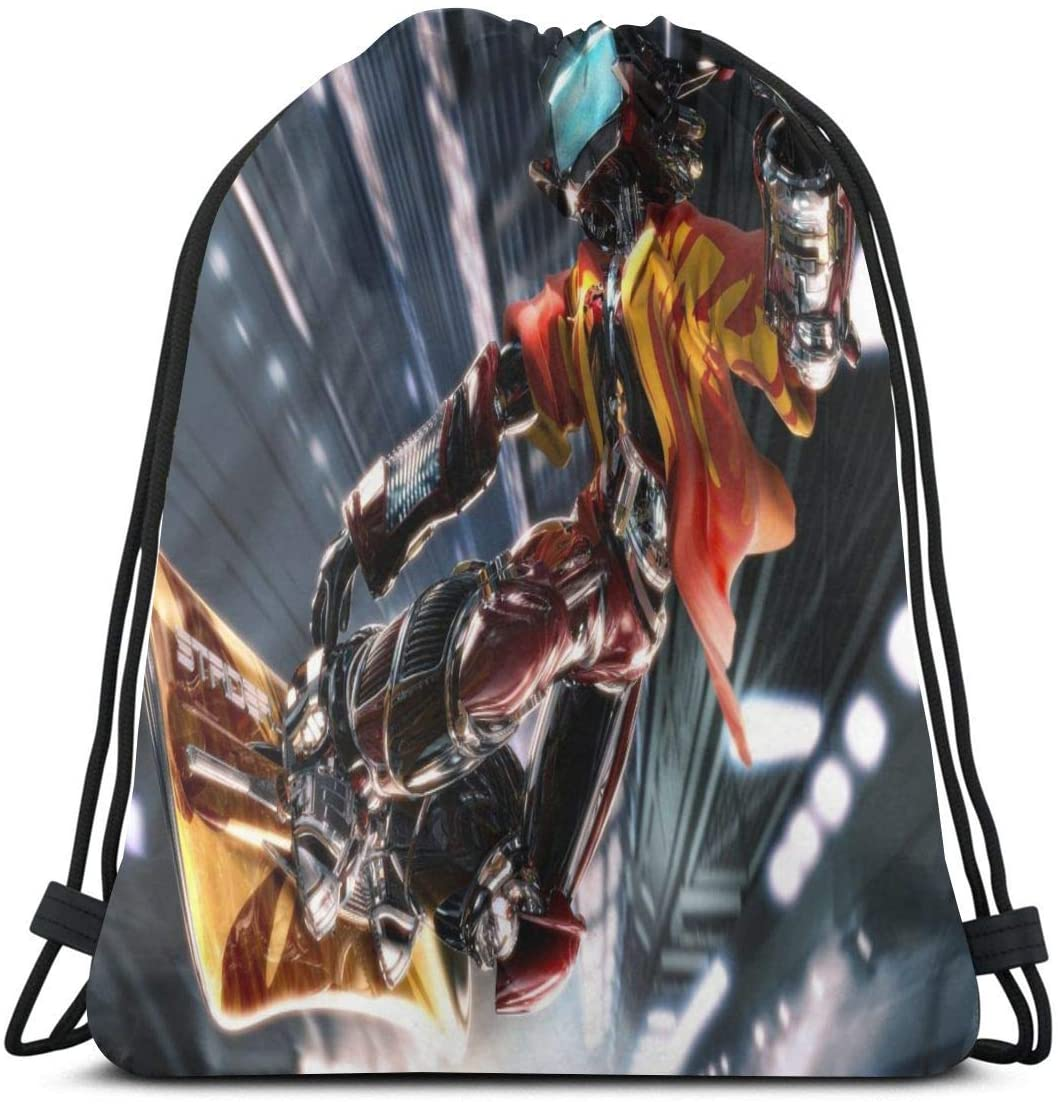 JIGFfkhal Anime Casual Beam Mouth Backpack FLCL Travel and Leisure Backpack