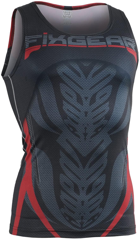 FIXGEAR Compression Baselayer MMA Short Sleeveless Shirt