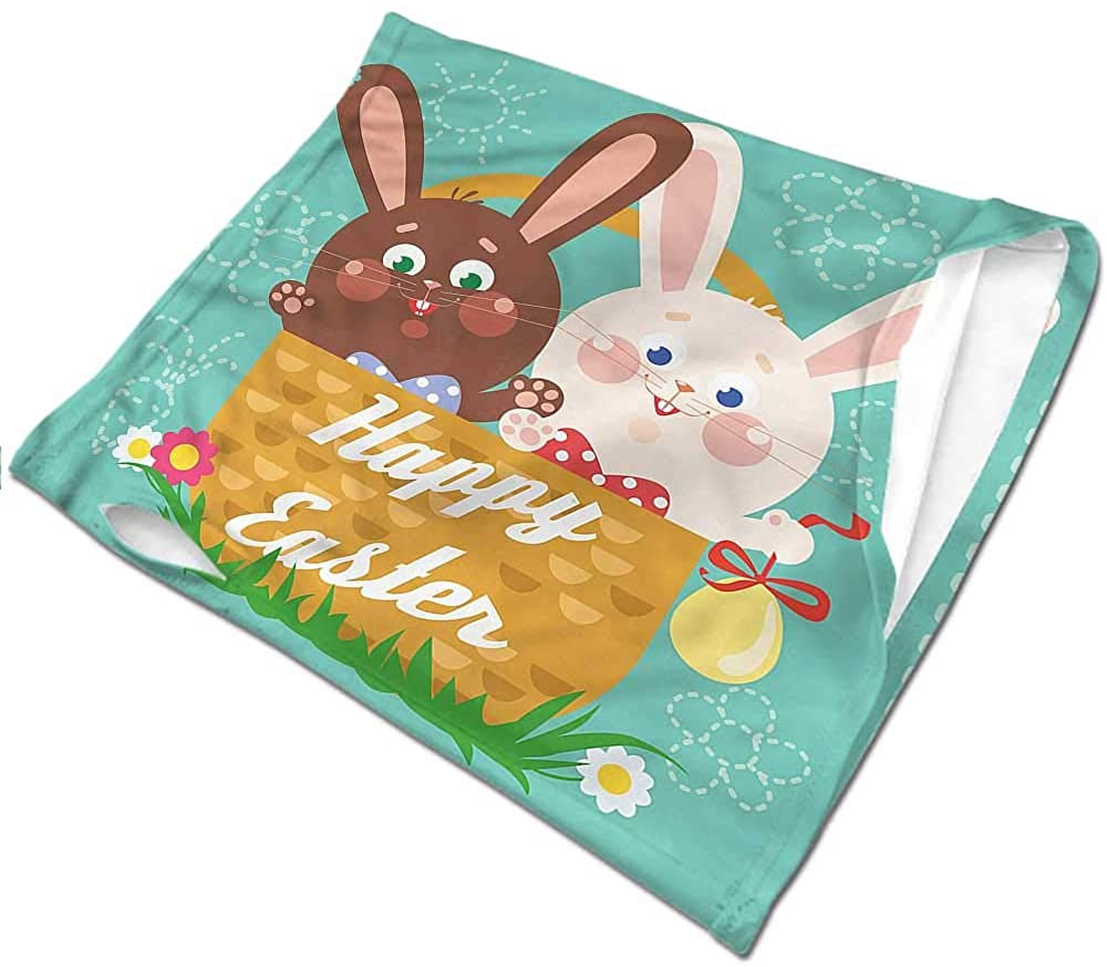 Face Cover Easter,Funny Rabbits in a Cup Tactical Neck Tubes