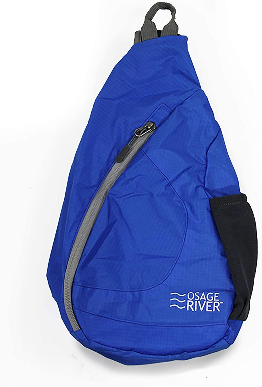 OSAGE RIVER Taber Sling Bag, Foldable Crossbody