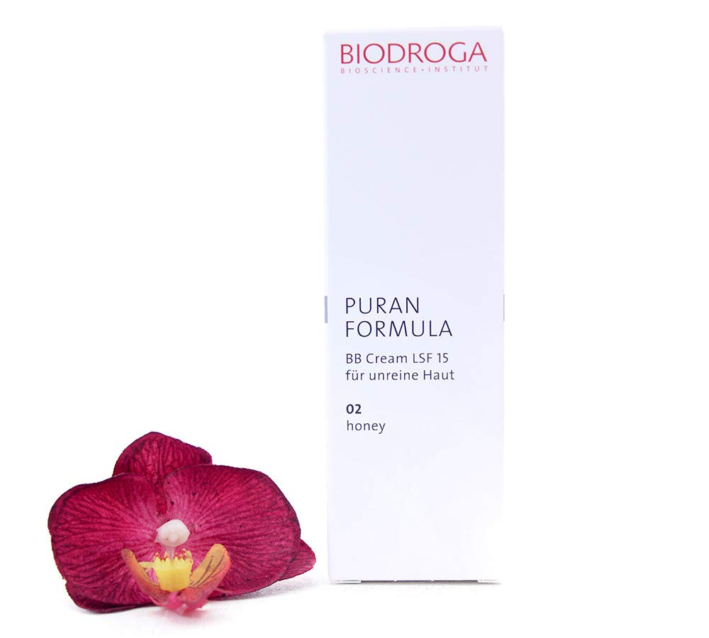 Biodroga Puran Formula - BB Cream SPF15 For Impure Skin 02 Honey Touch 40ml