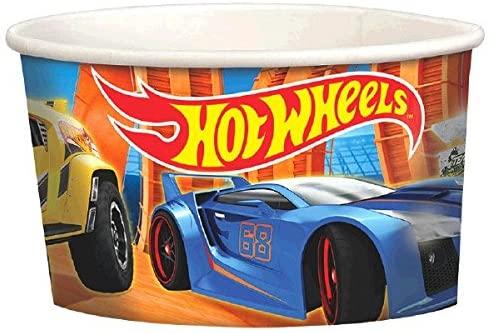 Hot Wheels Wild Racer Treat Cups, Party Favor