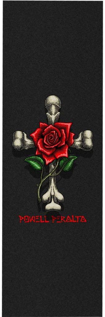 Powell-Peralta Skateboard Griptape Rose Cross 10.5
