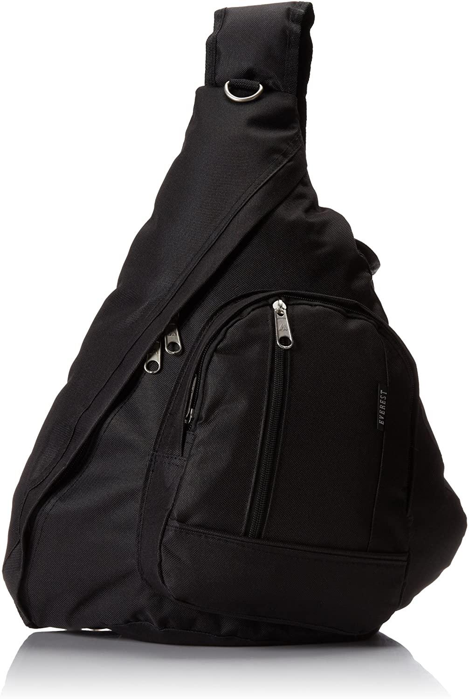 Everest Sling Bag, Black, One Size