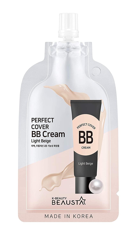 BEAUSTA Perfect natural BB cream (Light beige)