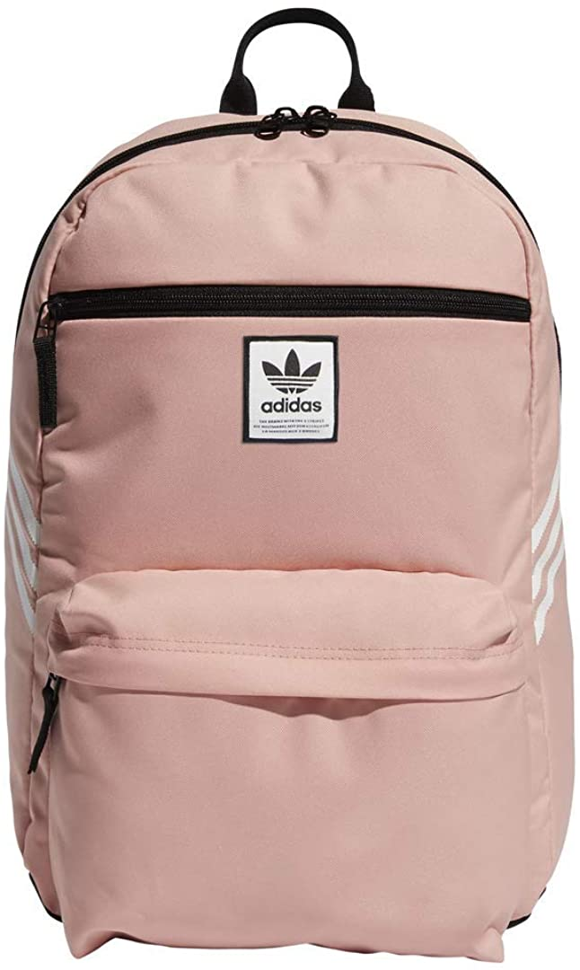 adidas Originals National Superstar Recycled Backpack, Trace Pink/White, One Size