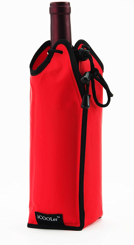 Wine Bottle Icooler (Red)