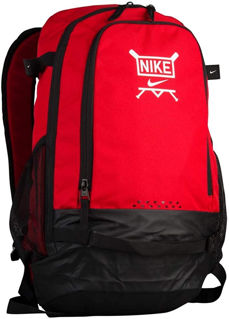 Nike Men's Vapor Clutch Baseball Batpack University Red/Black/White Size One Size