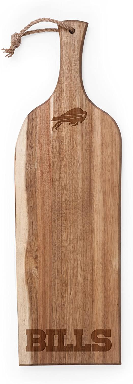 PICNIC TIME NFL Buffalo Bills Artisan Acacia Wood Serving Plank, 24-Inch