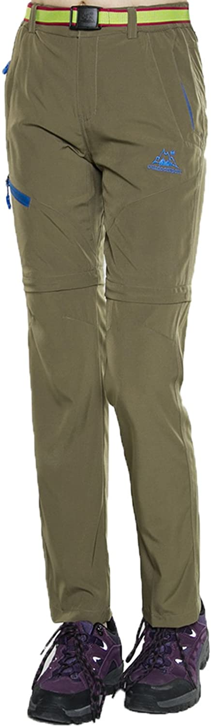 Mr.Stream Women's Hiking Quick Drying Outdoor Sports Active Water Repellent Stretch Convertible Pants