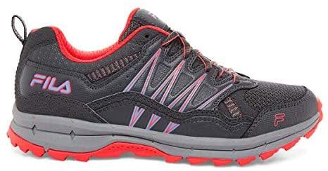 Fila Womens, Evergrand TR Trail Running Sneakers (7) Grey