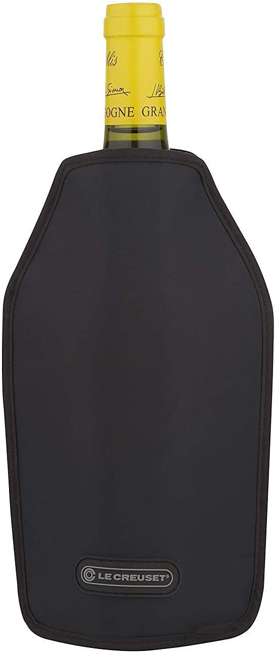 Le Creuset WA126L-31 Wine Cooler Sleeve, Black