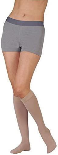 30-40 mmHg Juzo Dynamic (Varin) AD-N Compression Stockings. Knee High. Max. Short. Closed Toe. 5cm Silicone Grip., Size:III
