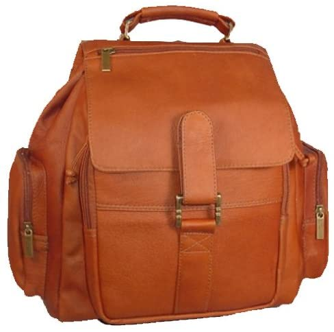 David King & Co. Top Handle Promotional Backpack, Tan, One Size