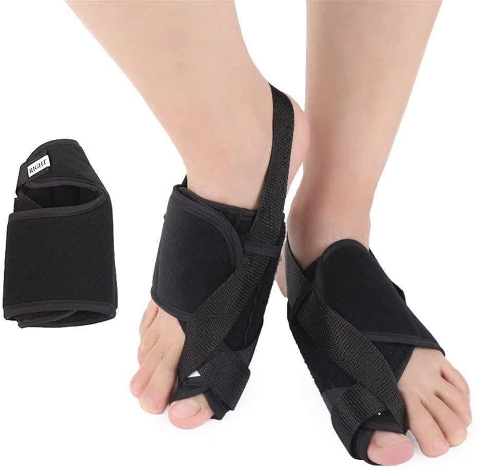 GUOYAJF Toe Exodus And Valgus Ectropion Orthodontic Appliance,Cotton Cloth Big Foot Thumb Ectropion Orthodontic,1Pair