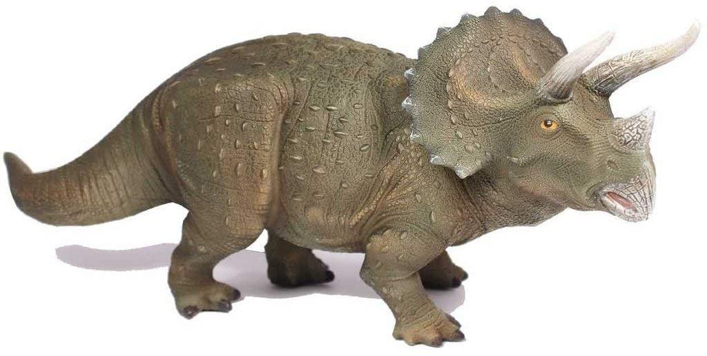 Streamline Triceratops Dinosaur Table Lamp, Brown