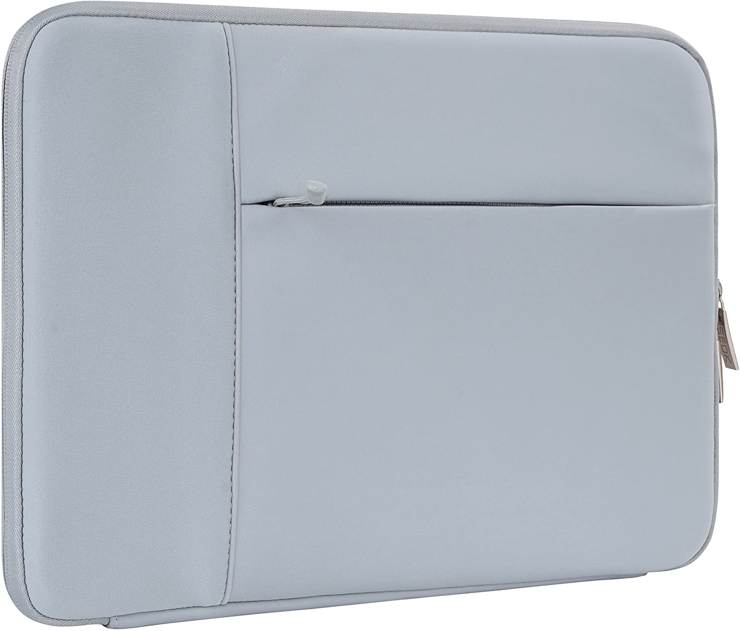 HSEOK 13-13.3 Inch Laptop Sleeve Case, Environmental-Friendly Spill-Resistant Sleeve for 13-Inch MacBook Air 2012-2017, MacBook Pro Retina 2012-2015/Pro 2012 A1278 and Most 14-Inch Laptop, Grey