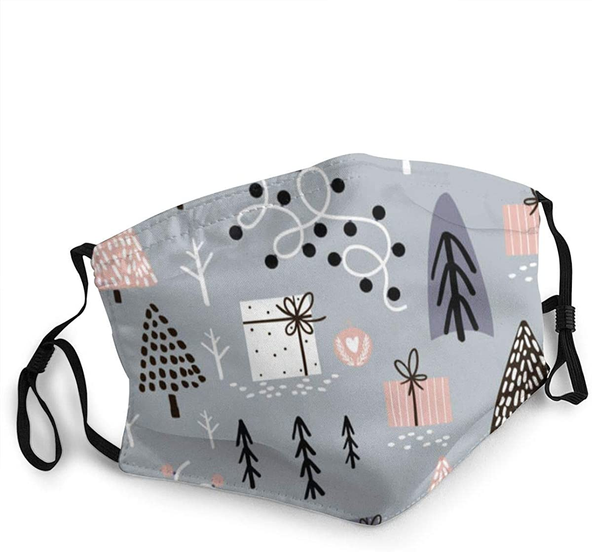 MARTHLORES Fashion Protective, Reusable Cotton Fabric Tree Christmas Light Unisex Cotton, Washable,Adjustable, Reusable.