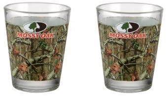 Mossy Oak Break Up Infinity Shot Glasses, Pink Camouflage