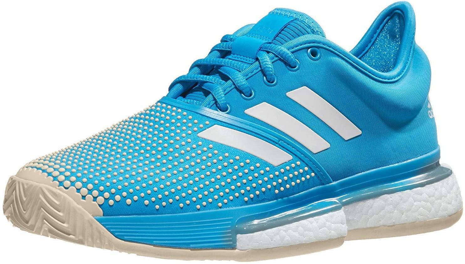 adidas Women's Tennis SoleCourt Boost Clay