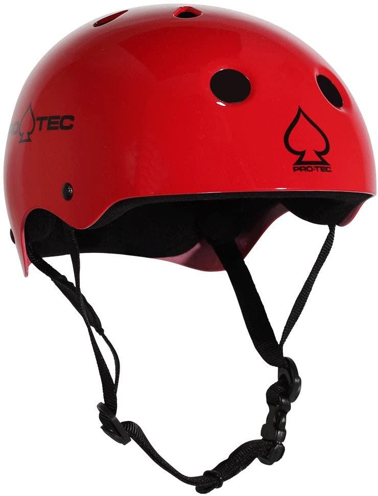 Pro-Tec PROTEC Classic Gloss RED-XL Helmet