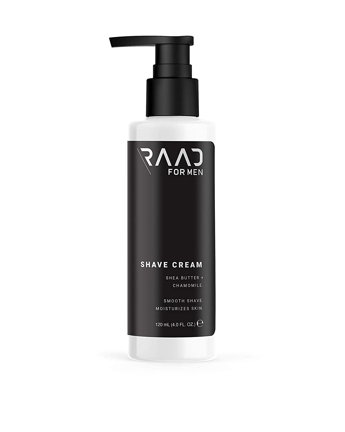 RAAD For Men - Shaving & Moisturizing Cream Lather For Men, Formulated with Shea Butter, Calendula & Chamomile, Natural Ingredients